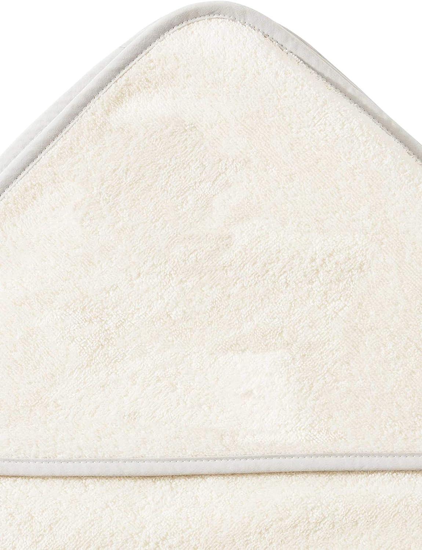 Toalla con capucha para ni/ños Morgenstern algod/ón beige beige Talla:80 x 80 cm