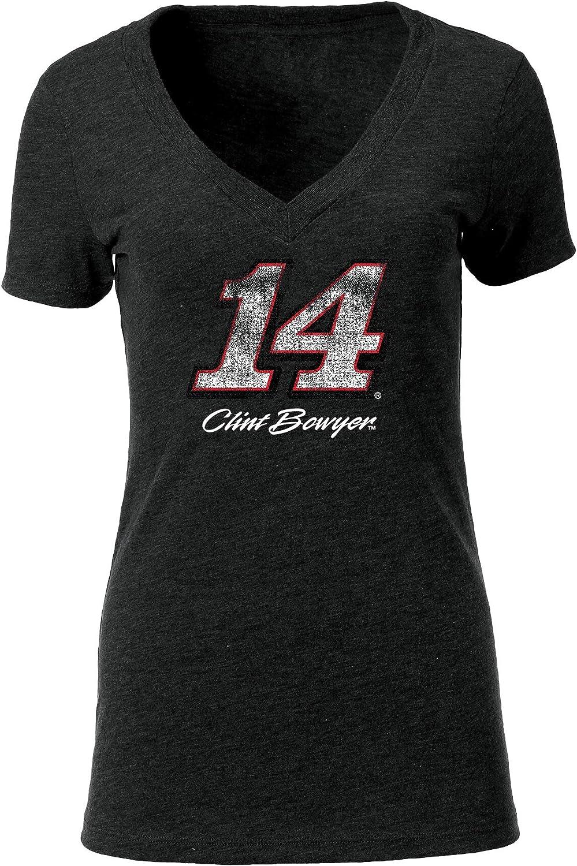 Ouray Sportswear NASCAR Womens Tri-Blend Deep V-Neck Tee