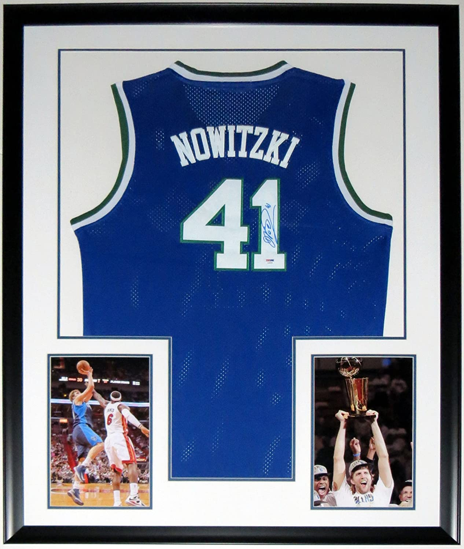 best sneakers cf659 dcf21 Dirk Nowitzki Signed Nike Dallas Mavericks Jersey - PSA DNA ...