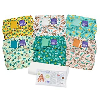Bambino Mio Miosolo Cloth Diaper Set, Rainforest