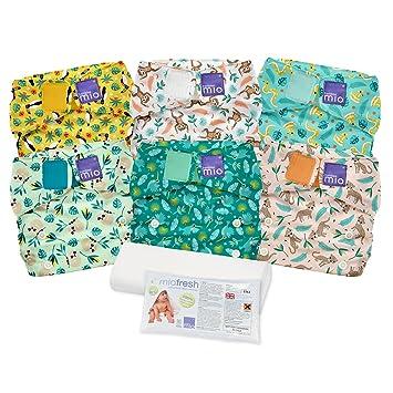e0d4296c9049 Amazon.com   Bambino Mio Miosolo Cloth Diaper Set