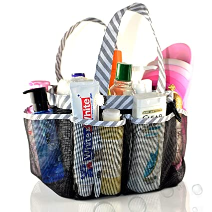 Amazoncom Aceen Mesh Shower Caddy Tote Portable College Dorm