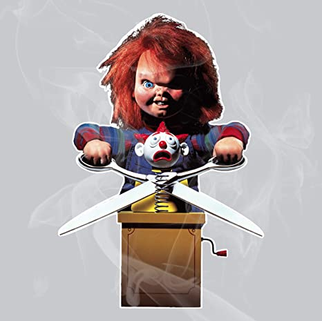 Amazon com: Enigma Design Company Chucky Vinyl Decal: Automotive