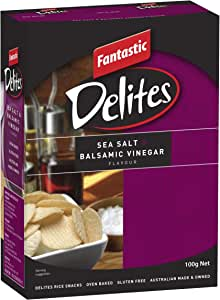 Fantastic Delites Sea Salt and Balsamic Vinegar, 100g