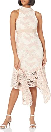 Keepsake the Label Women's No Air Sleeveless Lace Midi Dress