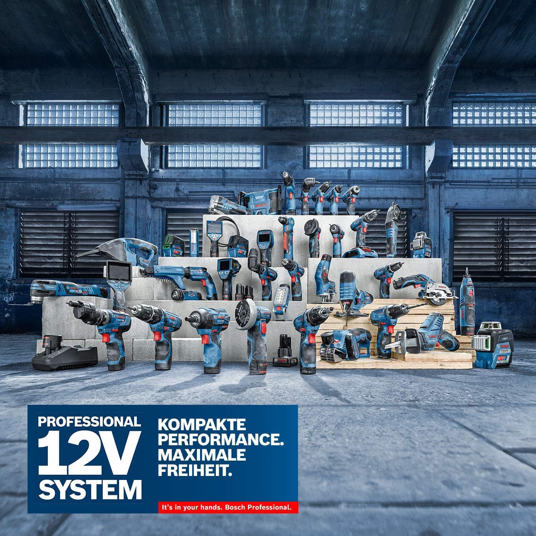 Taladro percutor a bater/ía Bosch Professional 12V System GSB 12V-35 35/Nm, 1750 rpm, 2 bater/ías x 3.0/Ah, L-BOXX