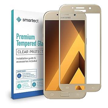 08e88f3ad82907 smartect Protection d Écran en Verre Trempé pour Samsung Galaxy A5 2017  3D  Curved
