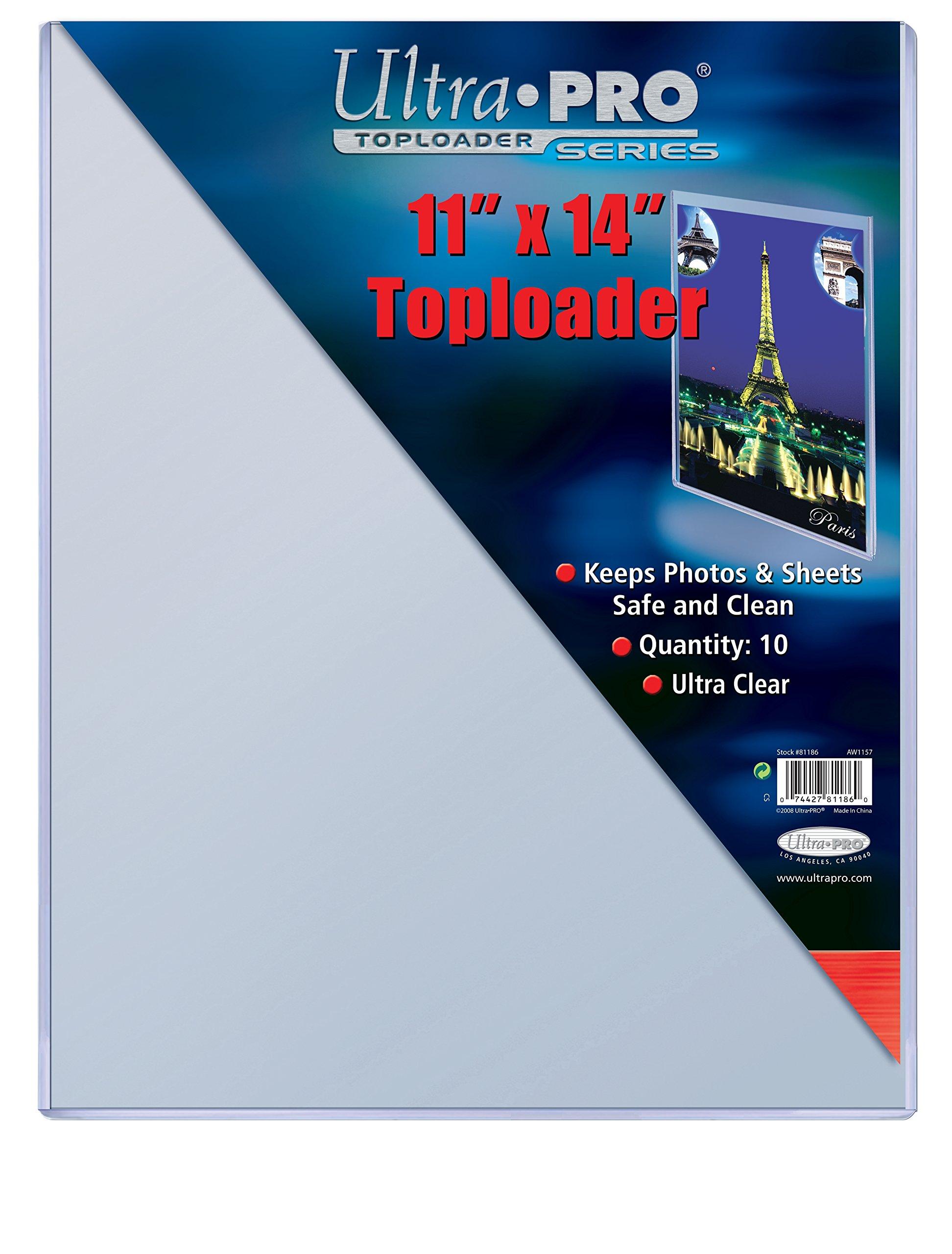 Ultra Pro 11'' X 14'' Toploader 20ct