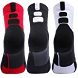 3 Pairs Thick Protective Athletic Cushion Quarter