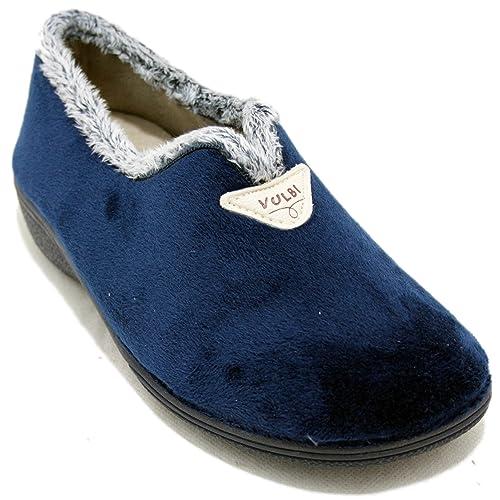 especial para zapato colección de descuento tiendas populares Vulcabicha 2746 - Zapatillas de Estar por Casa Cerradas con ...