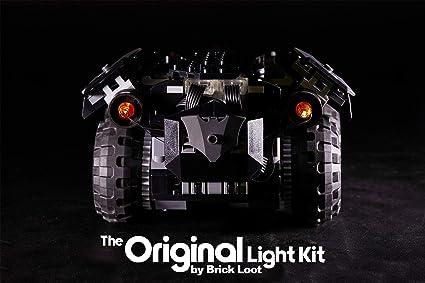 LED Lighting kit fits LEGO ® App-Controlled Batmobile 76112