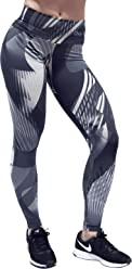 d8a10851e904c OXYFIT Leggings 64055 Graphite Sexy Workout Leggings, Cute Yoga Leggings