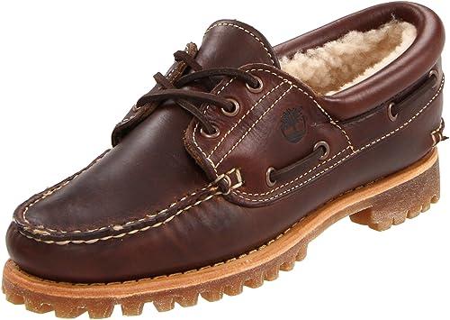 Timberland NOREEN 3EYE SHEARLNG BURG 18617 - Mocasines de cuero para mujer: Amazon.es: Zapatos y complementos