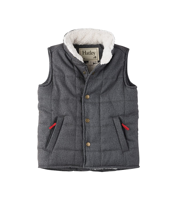 Hatley Boys Sherpa Lined Vest