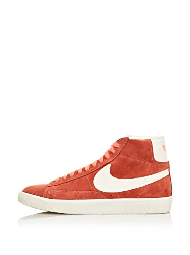 9237f1fcdf28 nike Womens Blazer Mid Suede Vntg Hi Top Trainers 518171 Sneakers Shoes (UK  7 us