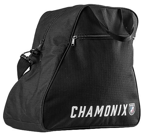 d4eba34774bd Amazon.com : Chamonix Taconnaz Boot Bag Black Sz 34L : Sports & Outdoors