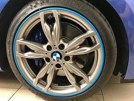 Scuffs by Rimblades FELGENSCHUTZ & Styling Felgenschutzring Alu Felgen  Ringe Felgenstyling Rim Protector Guard Ringz (Blau): Amazon.de: Auto