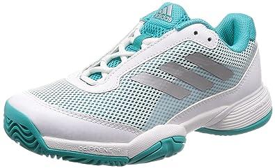 Adidas Barricade Club Xj, Zapatillas de Tenis Unisex niño, 000, 32 ...