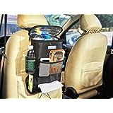 Organizzatore del sedile dell'automobile, Sacchetto di immagazzinaggio di viaggio multi-tasca, Picco borsa (Calore-Conservazione)