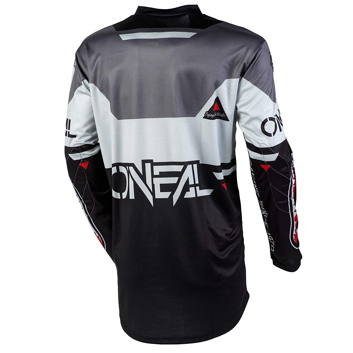 ONeal Element Warhawk Adult Jersey Blue//Red, M
