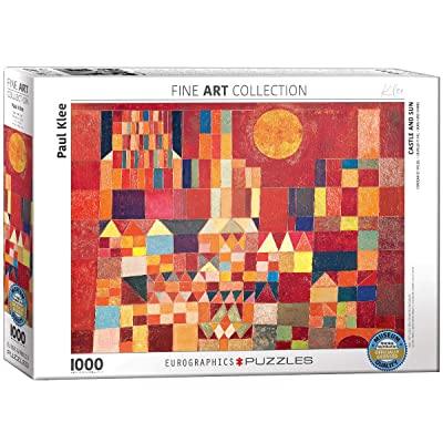 EuroGraphics Paul Klee Castle and Sun Puzzle (1000 Piece): Toys & Games