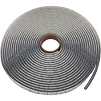 Rond koord butylband - 5 mm Ø x 8 meter - grijs