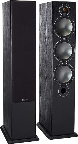 Monitor Audio Bronze Series 6 2 1 2Way Floorstanding Speaker – Each – Black Oak