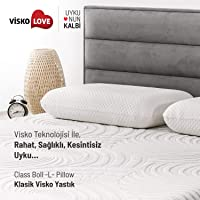 Visko Love Class Boll L Pillow/Visko Love Klasik Visko Yastık