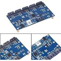Mxzzand Dyski twarde SATA 1 do 5 portów adapter karta komputer