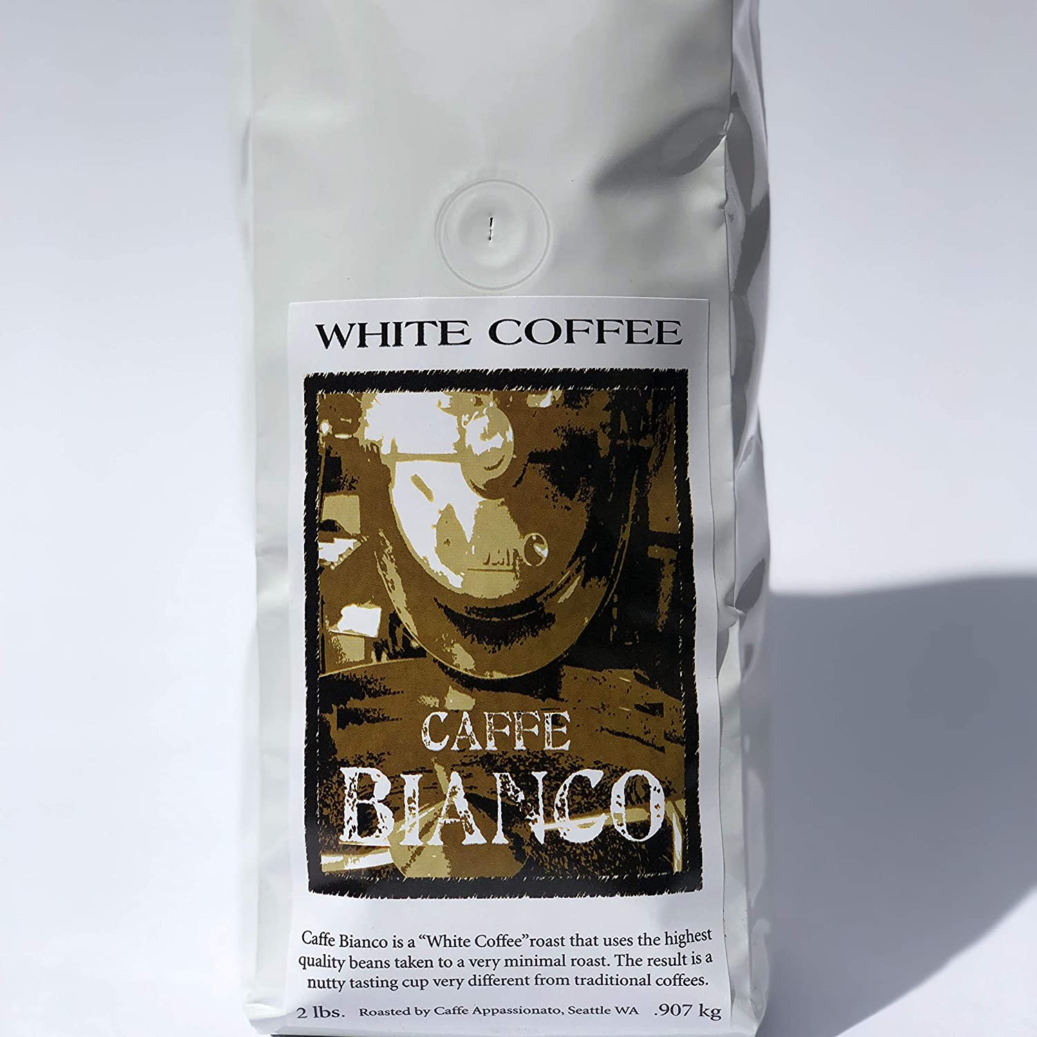 caffé appassionato ground white coffee
