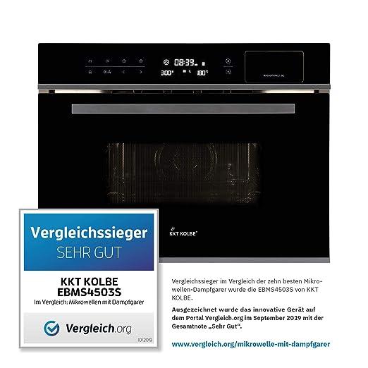 Horno empotrado con microondas y cocina de vapor (60cm, 3 ...