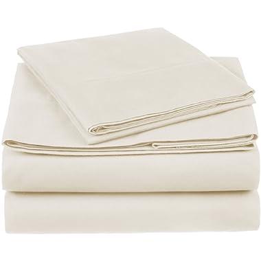 Pinzon 300 Thread Count Organic Cotton Sheet Set - Twin, Natural