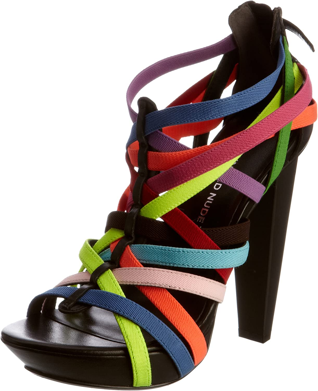 United Nude CURAÇAO elastic shoes remix hi_ Orange/purple