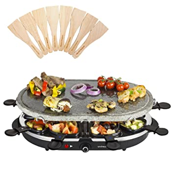 Raclette Grill Australia andrew electric raclette hotplate grill machine with