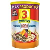 3 Minutos Avena, Sabor Natural, 400 g