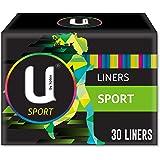 U BY KOTEX Liners U by Kotex Sport Liners (Pack of 30), Pack of 30 0.062 kilograms