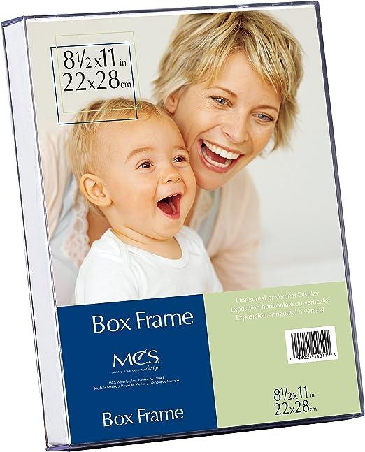 8-1//2 by 11-Inch MCS 8.5x11 Inch Clear Box Frame 11811