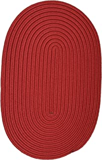 product image for Colonial Mills Boca Raton Sangria Rug Size: Oval 2' x 5'