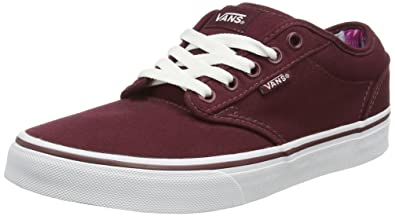 Vans U Authentic - Baskets Basses - Mixte Adulte - Rouge (Port Royale/Black) - 36.5 EU CJ3BKW