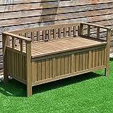 choice 70 Gallon 2-in-1 Outdoor Garden Bench