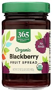 365 Everyday Value, Organic Blackberry Conserve, 17 oz