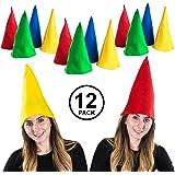 cc03f7ec569 Funny Party Hats Gnome Hats - Set Of 12 Hats - Dwarf Hats - Dwarf Costume