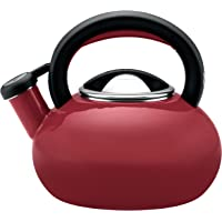 Circulon 1.5-Quart Sunrise Teakettle (Rhubarb Red)