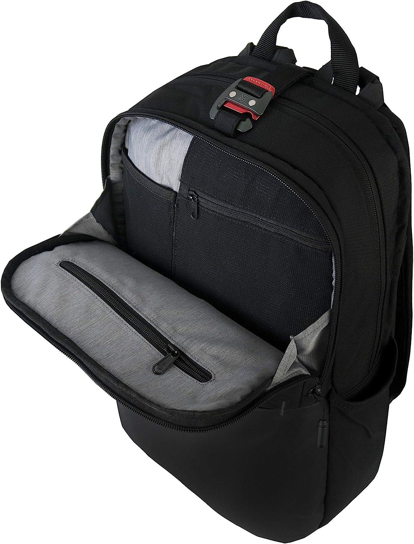 Travel Business Backpack Ascentials Pro Boss Water Resistant 15 Laptop Messenger for Men