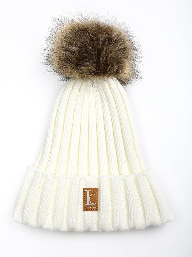 4f04d6ab2f36 Gorro de invierno para mujer con pompón «Bomboleo» de Longclass, muy ...