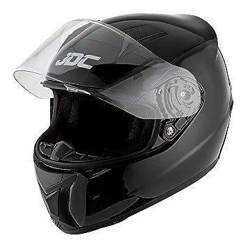 Egal Durable Motorcycle Helmet Half Open Face Adjustable Motorbike Helmets Riding Head Protector with Visor Wind Shield Blue