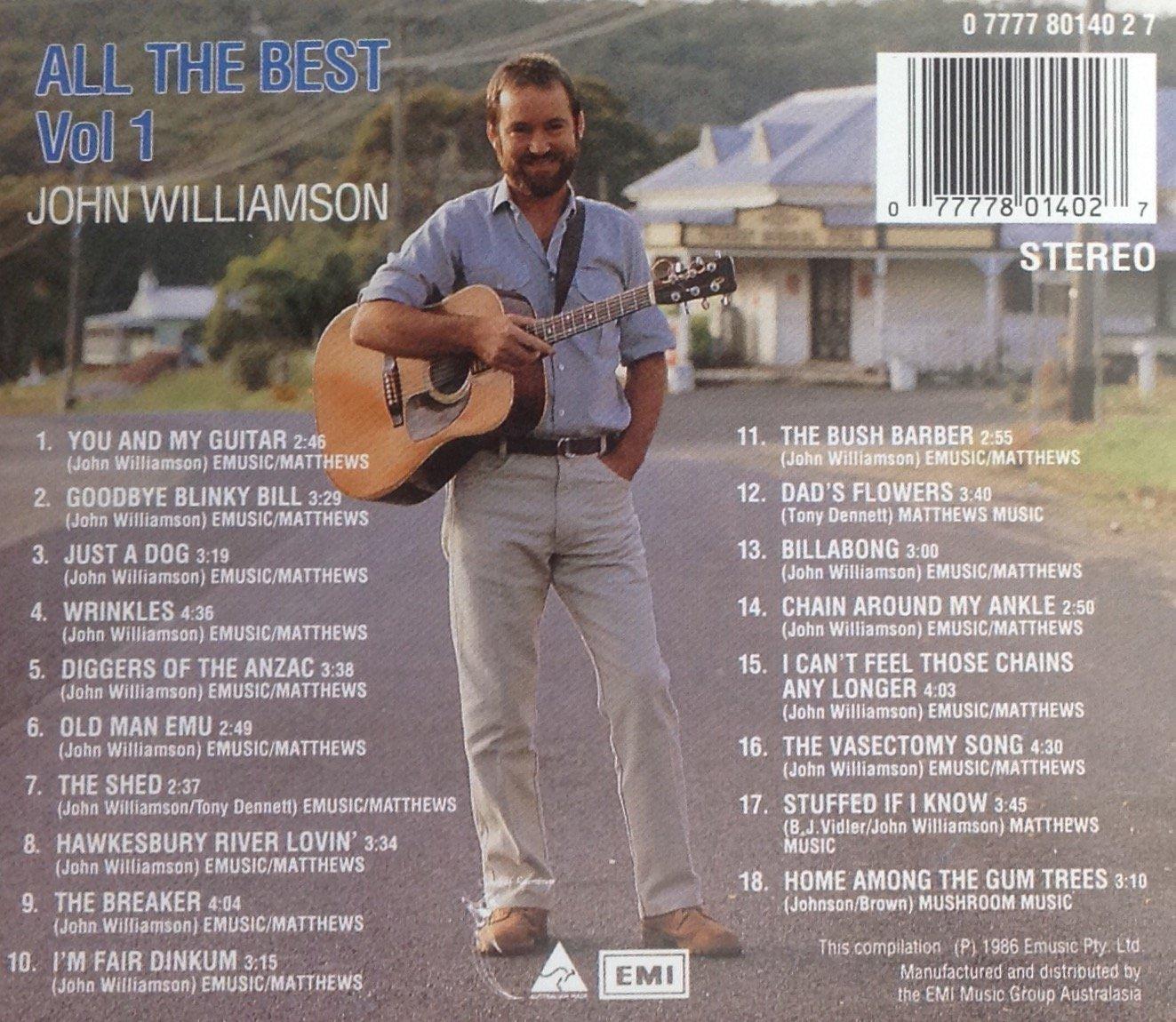 John Williamson All the Best Vol 1 Amazon Music