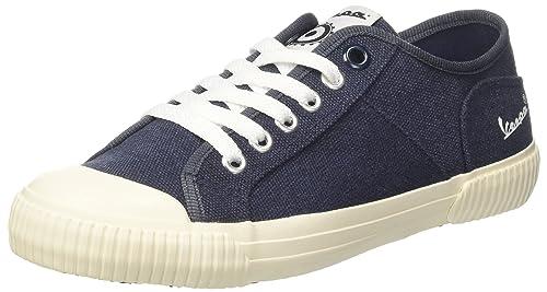 Vespa Footwear Corsa, Sneaker Unisex-Adulto, Blu, 41 EU