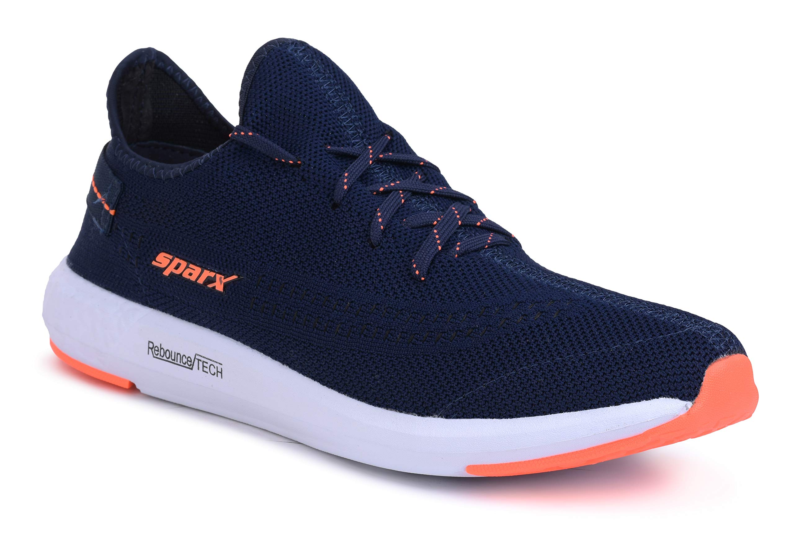 Sparx Men SM-482 Navy Blue Neon Orange Sports Shoes (B07Y59K2TB) Amazon Price History, Amazon Price Tracker
