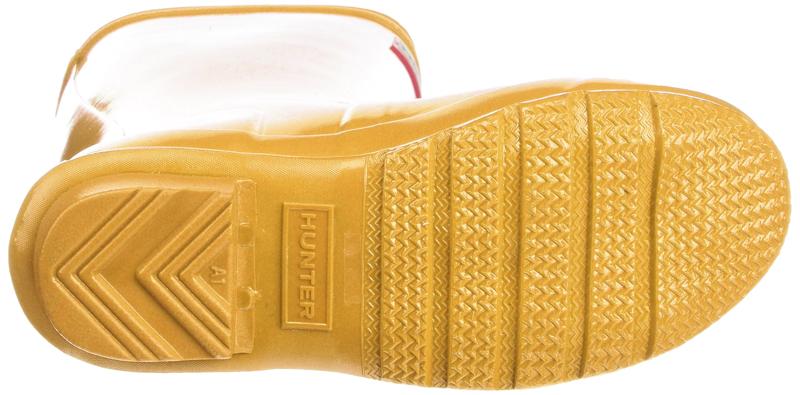 Hunter Kids' Original Gloss Boot, 34, Yellow by Hunter Kids (Image #3)